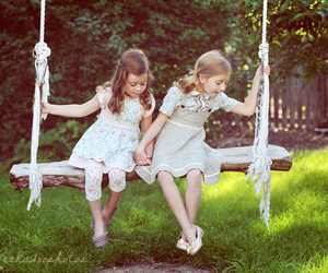children, kids, and little girl image