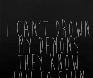 demon, bmth, and bring me the horizon image