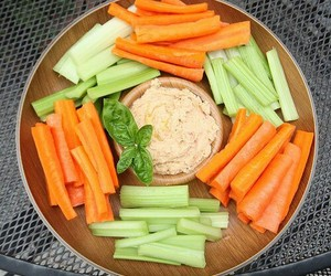 healthy, carrot, and celery image