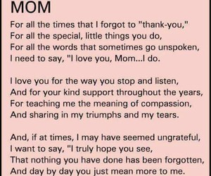 mom, quotes, and love image