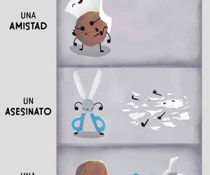 humor, papel, and piedra image