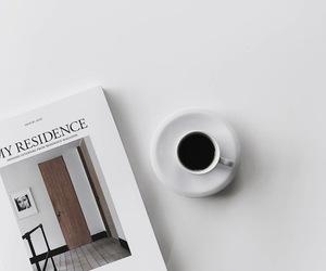 coffee, magazine, and minimalism image