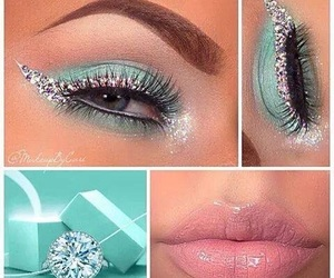 aqua, maquillaje, and make up image