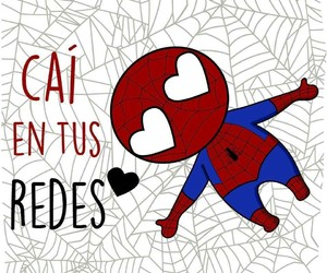 love, spiderman, and amor image