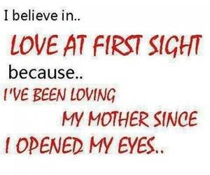 quote, love, and mother image