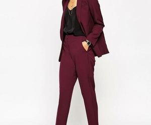 fashion, high heels, and pantsuit image
