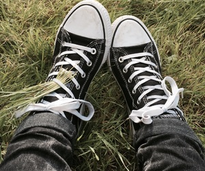 converse, dark, and gay image