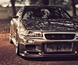 nissan, skyline, and r34 image