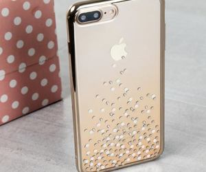 case, gold, and iphone image