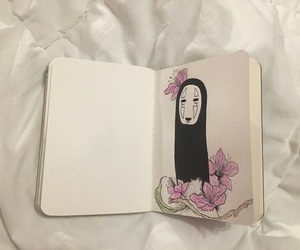 no face, spirited away, and aesthetic image