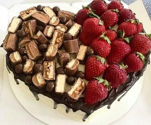 chocolat, coeur, and gâteau image