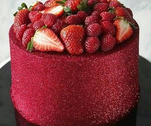 brillant, gâteau, and dessert image