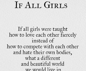 girls, quotes, and love image