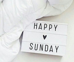 happy, relax, and Sunday image