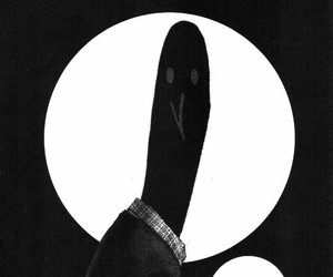 manga, oyasumi pun pun, and monochrome image