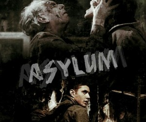 poster, supernatural, and 1x10 image