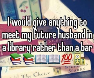 book, love, and husband image