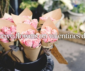 valentines day, girly thoughts, and flowers image
