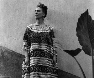 frida kahlo and plants image