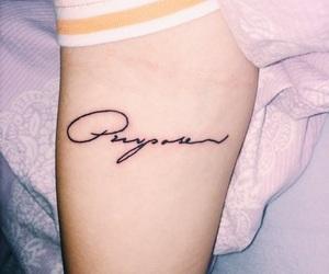 girl, purpose, and tattoo image