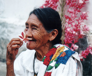 flowers, beauty, and people image