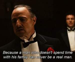 family, man, and The Godfather image