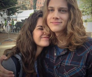 maia mitchell, wyatt, and the fosters image
