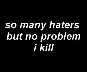 black, headers, and Lyrics image