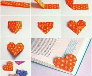 diy, book, and heart image