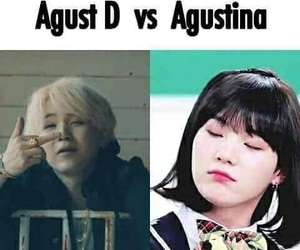 bts, meme, and suga image