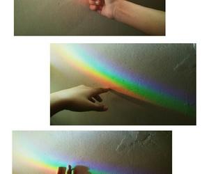 boho, rainbow, and tumblr image
