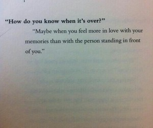 love, over, and memories image