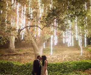 wedding, love, and light image