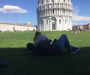 couple, Pisa, and love image