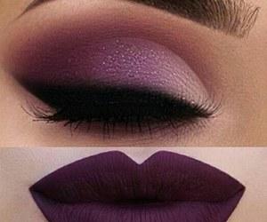 eyebrow, eyelashes, and eyeliner image