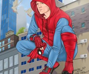 Marvel, marvel comics, and spider-man image