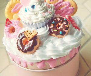 candy, cupcake, and cute image