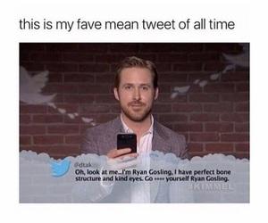 ryan gosling and tweet image