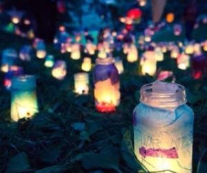 light and night image