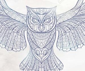 owl tattoo, buho, and ink idea image