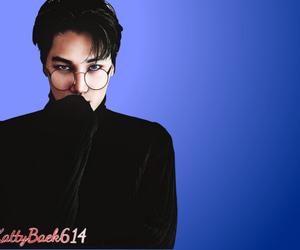 wallpaper, chanbaek, and exo cute image