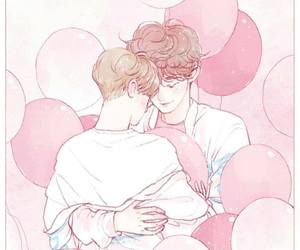 chanbaek, exo, and fanart image