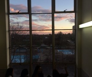window, sky, and aesthetic image