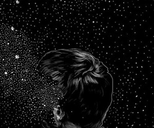 wallpaper, stars, and boy image