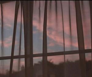 grunge, window, and night image