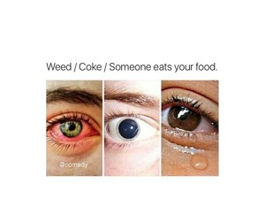 eat, eyes, and food image
