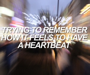 heartbeat, heartbreak, and quotes image