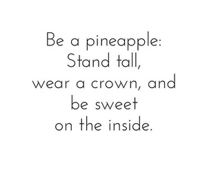 crown, pineapple, and motivation image