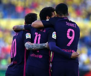 Barcelona, messi, and neymar image