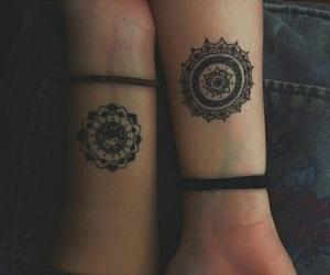 tattoo, mandala, and grunge image